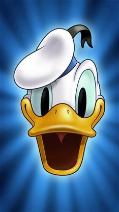 动漫,卡通,可爱,萌,唐老鸭,迪斯尼,蓝色,漫画