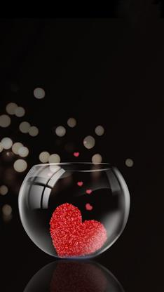 愛情,愛心,心,表白,浪漫,黑色