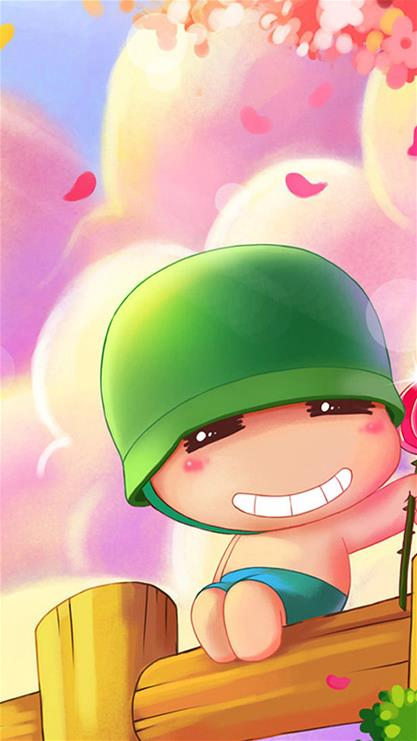 小兵,可爱,卡通,萌,粉色