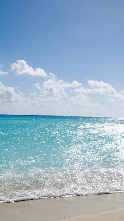 风景,海水,大海,海浪,沙滩,蓝色