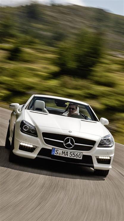 名车,汽车,小车,豪车,奔驰,绿色