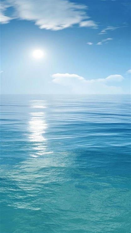 风景,海水,天空,蓝天,太阳,蓝色