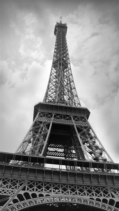 埃菲尔铁塔,黑白