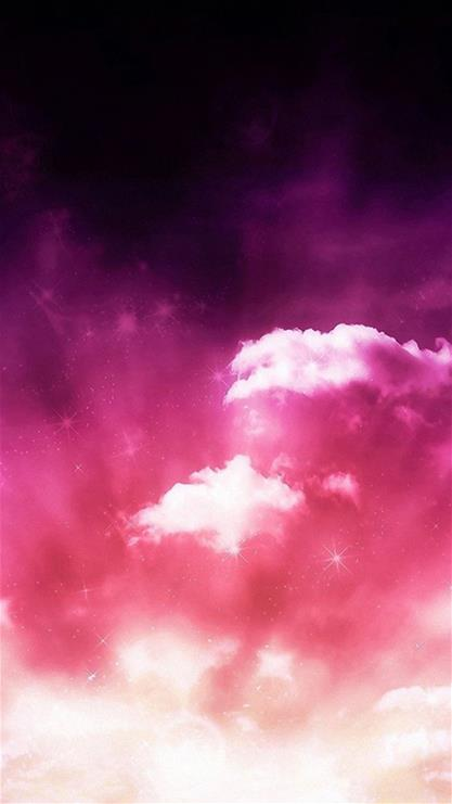 云朵,意境,粉色