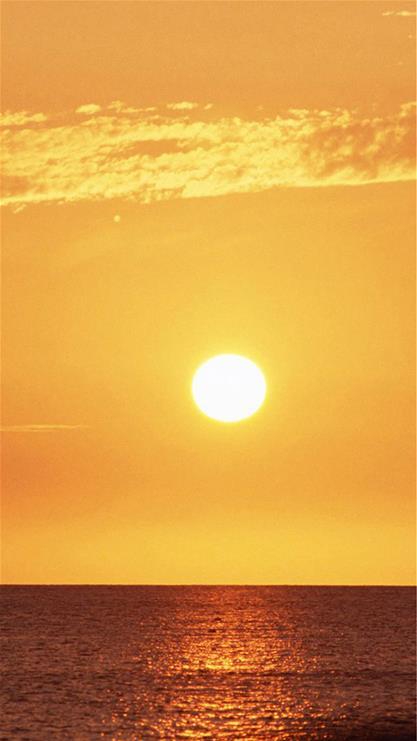 手机壁纸可爱太阳