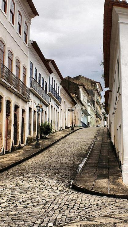 风景,街道,复古,建筑,棕色
