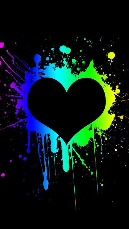 爱情,桃心,爱心,love,黑色