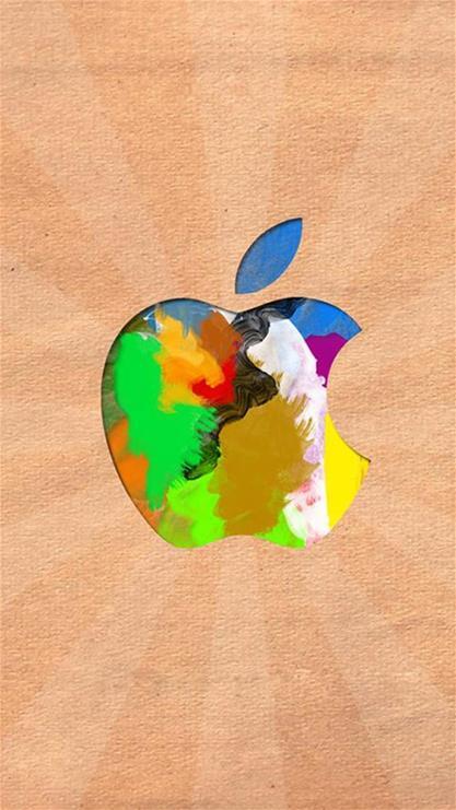 科技,蘋果,iphone6,個性,經典,創意,壁紙,愛瘋,apple,簡單,黃色