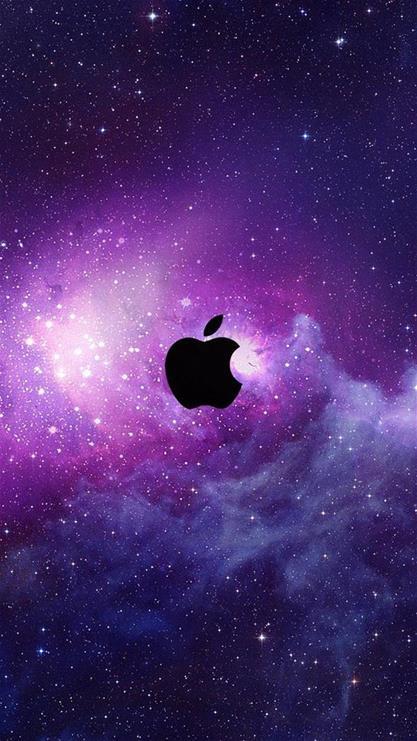 苹果简单可爱壁纸