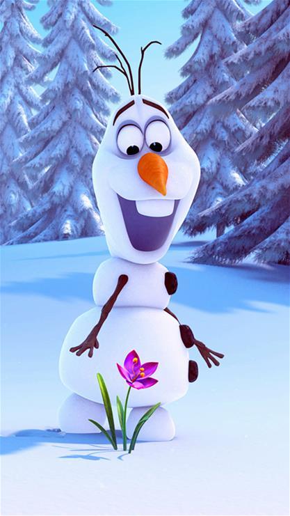 动漫,卡通,冰雪奇缘,冰雪女王,白雪皇后,雪人,可爱,蓝色,漫画