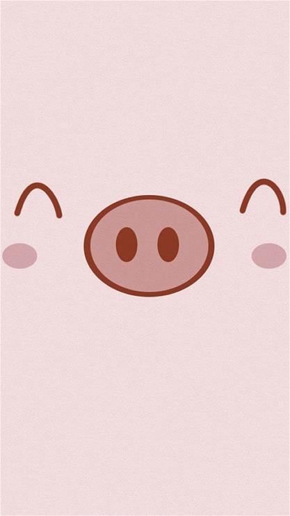 可爱小猪手机壁纸