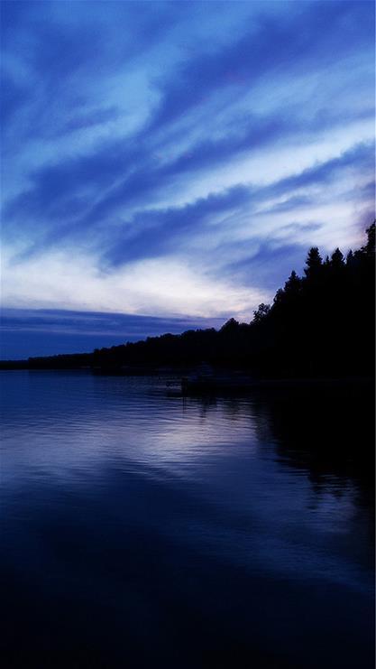 风景,海,天空,蓝色