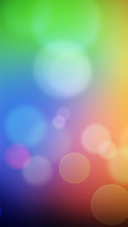 抽象,光点,圈圈,彩色
