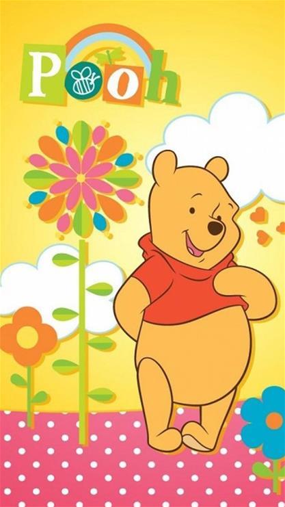 动漫,卡通,可爱,萌,维尼熊,黄色,漫画