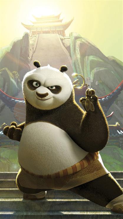 功夫熊猫,可爱