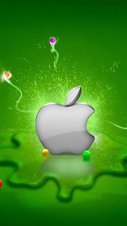 苹果6plus绿色护眼壁纸-护眼净版手机壁纸_纯杏色手机