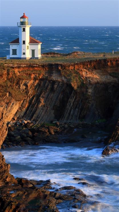 风景,海边,别墅,海浪,大海,黑色