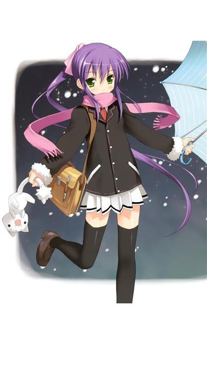 日本卡通可爱女孩子