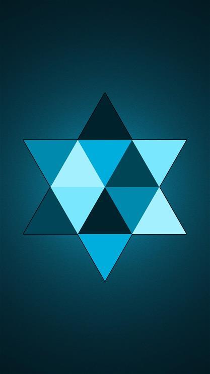 其他,五角星,星星,蓝色