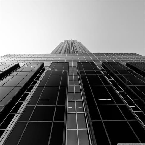房子,建筑,仰望,大楼,灰色