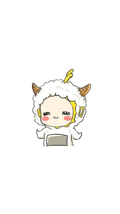 羊年,卡通,可爱