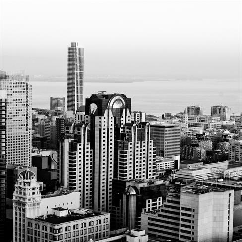 城市,建筑,房子,灰色