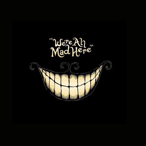 嘴巴,牙齿,卡通,黑色
