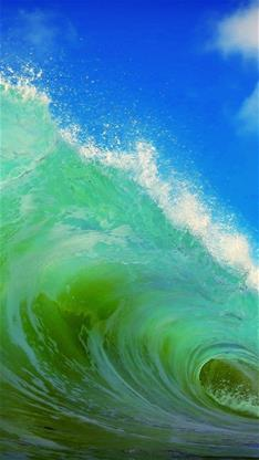 海水,蓝天,蓝色