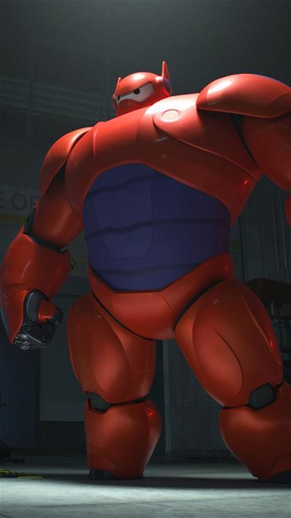 超能陆战队,卡通,帅气