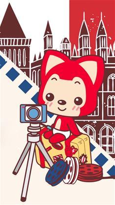 动漫,卡通,萌,可爱,阿狸,黄色,儿童节,漫画