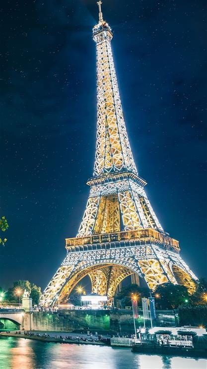 埃菲尔铁塔,景物,旅游,蓝色