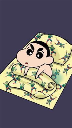 天生一对,动漫,睡你麻痹,起来嗨,卡通,可爱,萌,蜡笔小新,儿童节,腊笔
