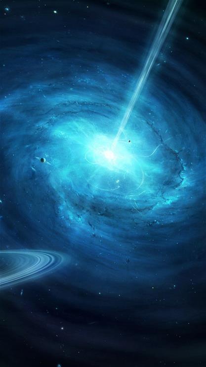 宇宙,太空,神秘,蓝色