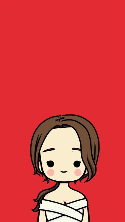 iphone6 plus紅色壁紙_iphone6 plus手機紅色壁紙_6