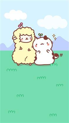 羊驼,草泥马,可爱