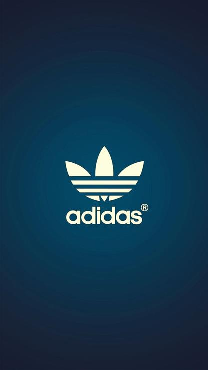 阿迪达斯高清手机壁纸-三叶草logo壁纸-三叶草动态手机壁纸-adidas图片