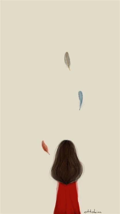 长发背影,女人,背影