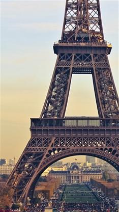 风景,建筑,埃菲尔铁塔