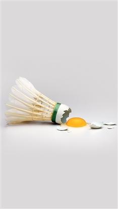 羽毛球,搞笑,鸡蛋