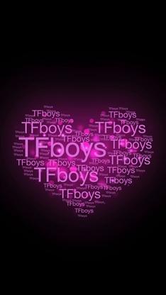 文字控,创意,爱心,tfboys,彩色