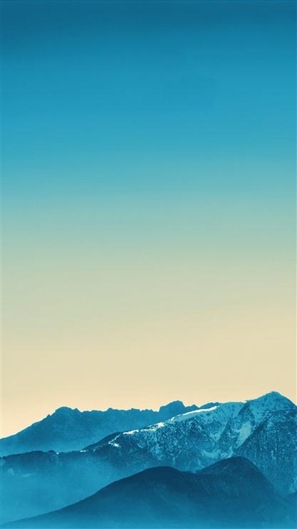 雪山,蓝天,山峰,风景,彩色