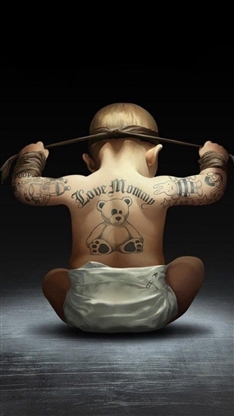 儿童纹身步骤图片