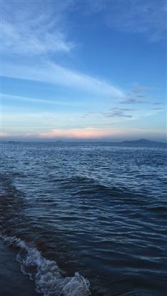 风景,大海,海水,蓝天,彩色