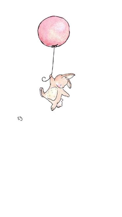 气球,可爱,萌,卡通